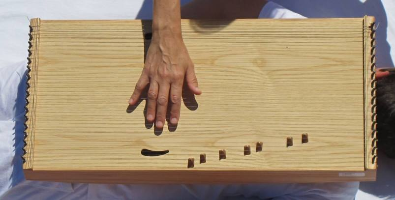 Kristina Alicia's monochord instrument, an integral part of her sound healing therapy, was designed by Pythagoras some 2600 years ago.