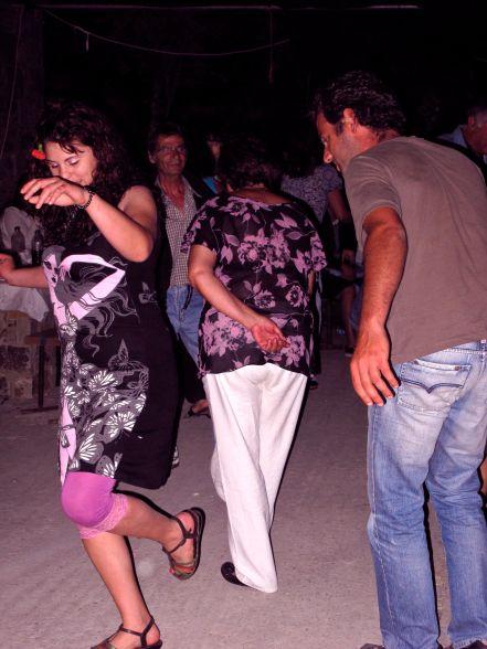 Ikarian dancers at a local Panygiri
