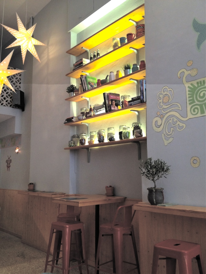 We liked the restaurant's fresh, modern, Mexican aesthetic unpretentious decor.