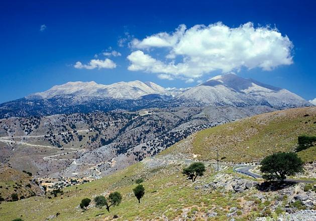 Crete's Lefka Ori mountain range