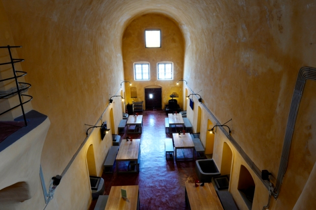 Venetsanos winery interior.
