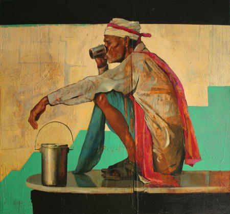 chai at the Ganga small file